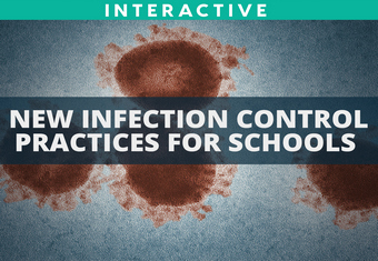 New Infection Control Practices for Schools site
