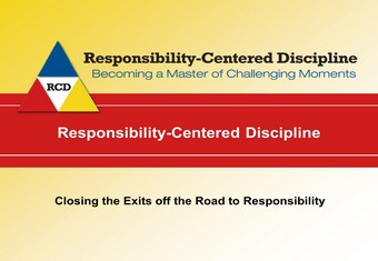 Closing the Exits off the Road to Responsibility RCD
